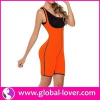 Wholesale ladies neoprene sliming body shapers bodysuit for weight loss