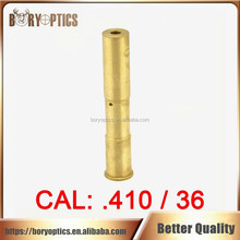 410/36 Cartridge Red Laser Bore Sighter CAL: .410/36 Laser Boresight Copper Hunting .410 36 Laser Red Dot