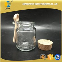 120ml Glass Food Jar With Spoon