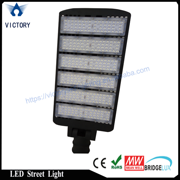 UL approve parking lot lighting pure white 4500k modular 300w led street light