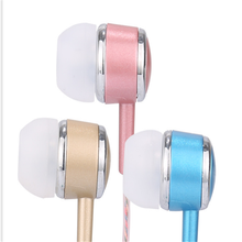 Hot Sale Hifi Stereo Earphone With Gift Packingbox Music Metal Earbud With Perfume Wire
