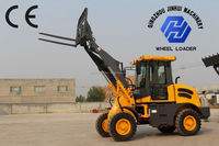 1 ton articulated loaders with CE