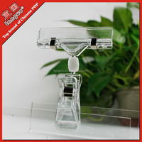 Hot sale acrylic price tag holder plastic clip