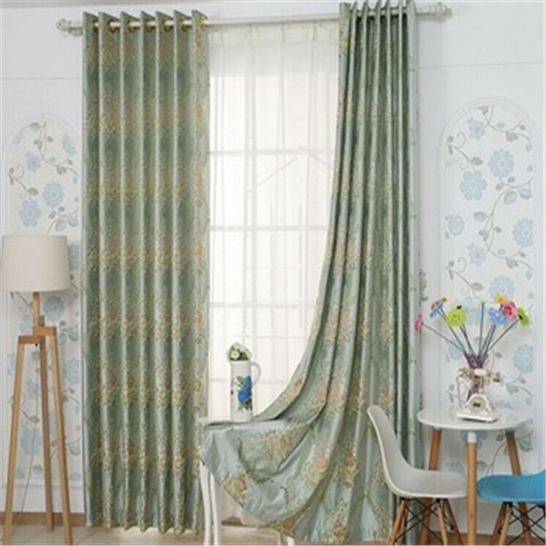 Woven Technics Curtain and Jacquard Pattern Cortinas for Home