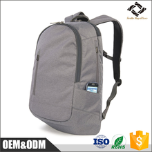 Top quality fashion design Antitheft custom logo computer nylon laptop backpack for school student