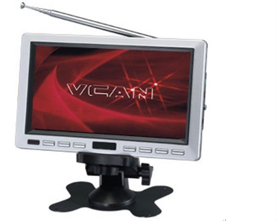 TM-7007 7 INCH Portable LCD/ SD card slot TV