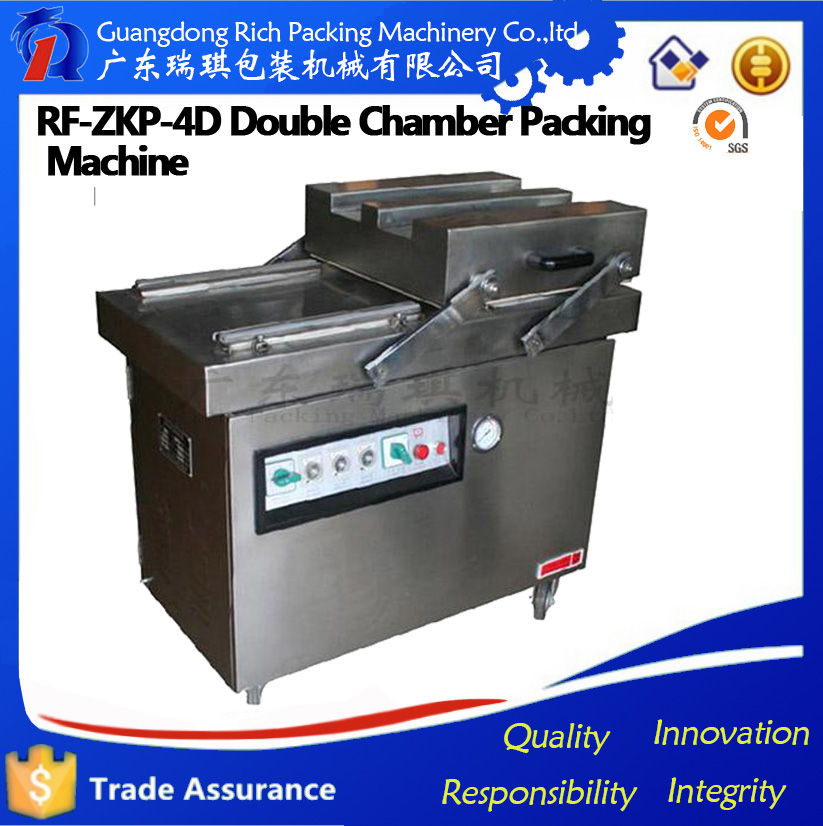 New modified atmosphere automatic vacuum packaging machine