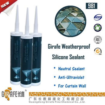 Neutral curing rtv cartridge silicone sealant