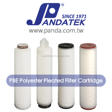 0.2 Micron Polyester Cellulose Water Pleated Membrane Filter Cartridge