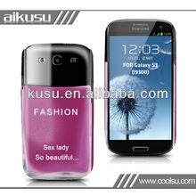 New design watertransfer case for samsung galaxy s3