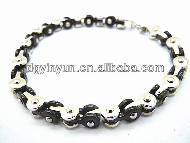 cheap wholesale men stainless steel bracelet snake chain bracelet