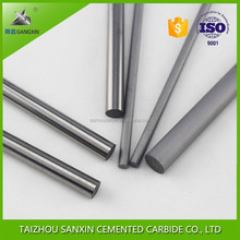 K20 K30 Gangxin brand high quality polished tungsten carbide solid rods/round bar for welding and brazing