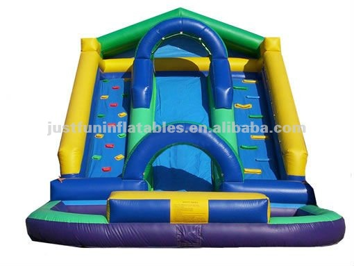 2013 fabulous inflatable water slide with Dual Lane