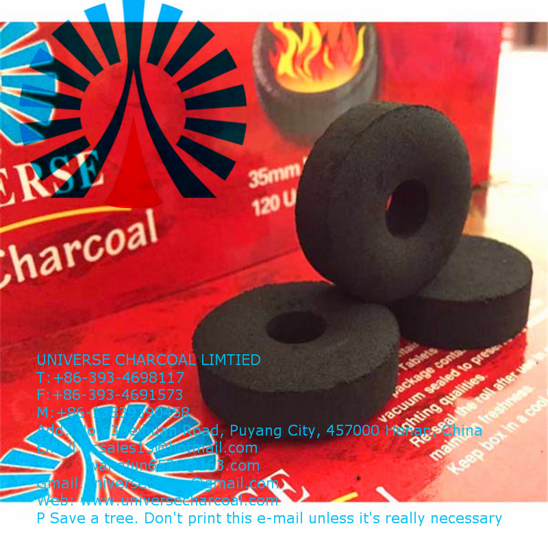 high quality coconut shisha charcoal with competitive price, the quick light charcoal tablets