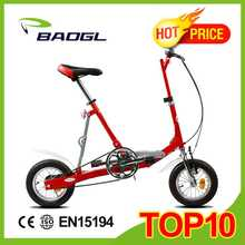 Baogl 12 inch cheap mini folding bicycle/ folding bike carreras de motos