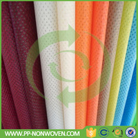 Spunbond non woven fabric manufacturer PP material fashion different fabrics