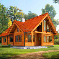 prefabricated wooden house for sale/ready wood house /house design