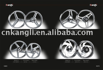 Wheel rims for motorcycle