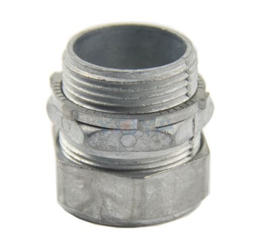 Emt zinc die casting compression connector