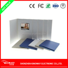 LCD video brochure card OEM 3.5 inch lcd screen wedding card for Wedding/business use