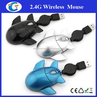 Computer Optical USB Mini Airplane Shape Wired Mouse