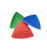 High Quality Plastic Triangle Stepping Stones for children made in Taiwan
