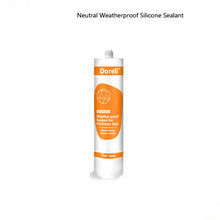DR830 Neutral Weatherproofing Silicone Sealant For Glass