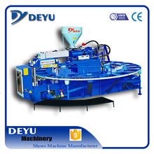 Full-auto Rotary Type single color Water-cooling Type TRB/TPU Sole Injection Moulding Machine