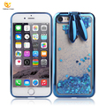 Electroplating quicksand rabbit ears tpu case for mobile phone for iphone 7/8
