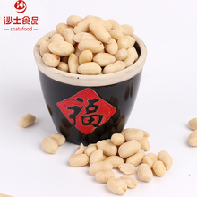 Export good quality shelled blanched white peanut kernel with large size