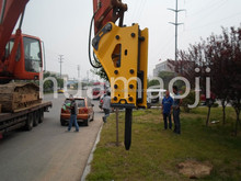 hydraulic breaker for 1.2-3.0t excavator made in Korea