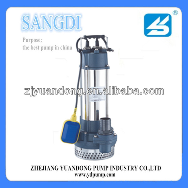 SQDX SERIES STAINLESS STEEL CHASSIS SUBMERSIBLE PUMP