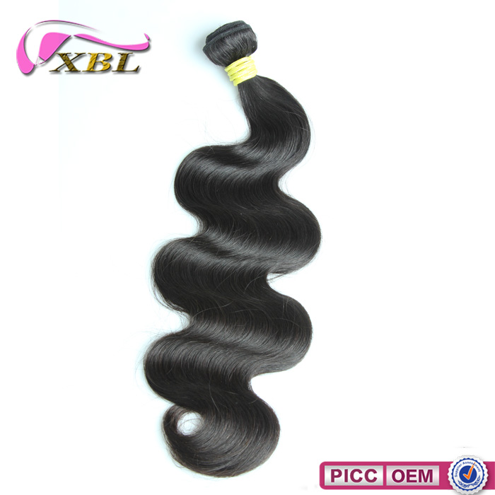 XBL Hair Good Feedback Long Lasting Free Sample Human Hair Weave