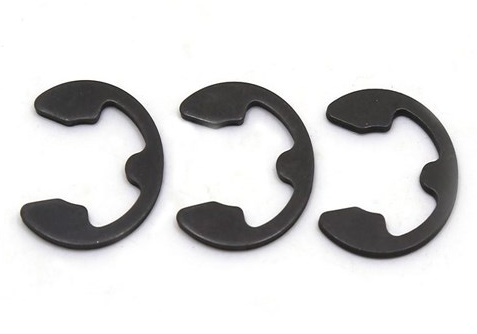 Steel DIN 6799 E-Type Snap Ring Circlip for Shaft Spring Steel Retaining Snap E-Clip Lock Washer