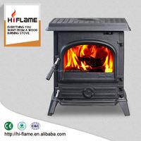 Multifunctional HiFlame burning long wood fireplace hearth made in China HF517UB
