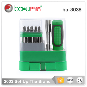 ba-3038 39 in 1 Adjustable precision multifunction screwdriver flexible opening tools kit set for iphone