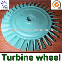 Investment Casting Axial Turbine Disk Used