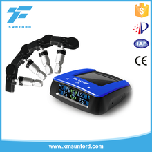 tpms tire pressure with Internal sensor & External sensor, 433.92mhz universal tpms for car