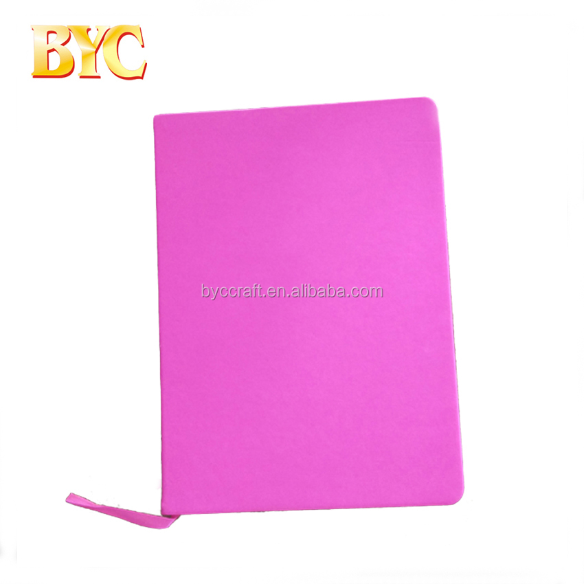 Soft PU Leather Notebook Leather Notebook Cover Silk Ribbon Agenda Organizer Planner Notebook