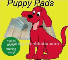 2012 hot sale puppy pet training pad(40x60cm,60x60cm,60x90cm)