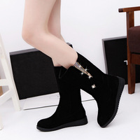 Plus size Warm new style low MOQ womens winter snow boots
