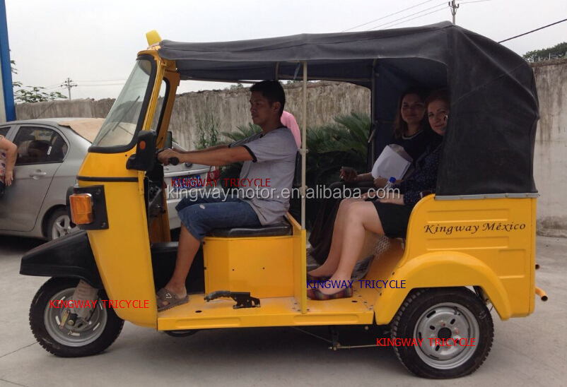 2016 Newest Design TVS King Bajaj Tricycle Special For Mexico Manufacturer