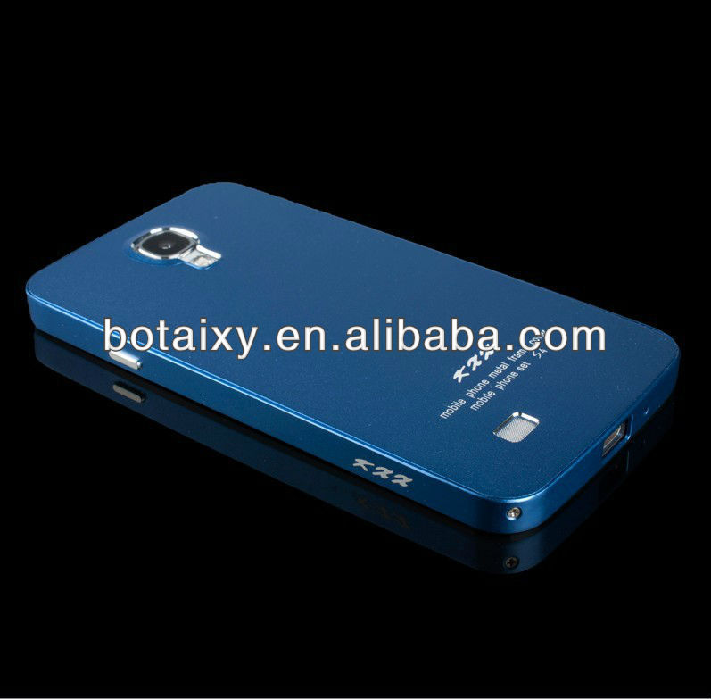 high quality aluminum protective case for samsung galaxy s4 i9500 all blue color