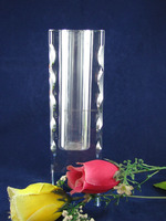 High quality clear crystal glass vases for wedding table centerpieces