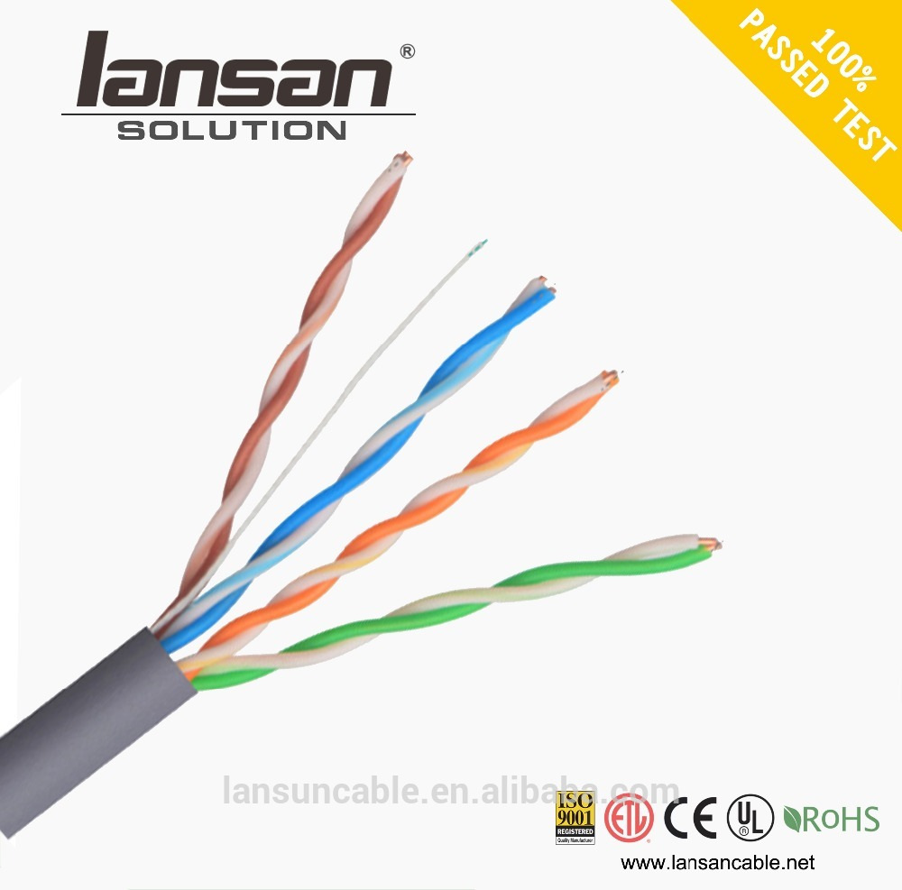 Factory Supply Lan Kabel lan connection cable cat5e utp made in China