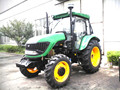 80hp to 110hp tractor,12F+4R shift right side,hydraulic steering,dual disc clutch,540/1000 PTO,diesel engine,cabin with A/C