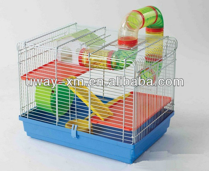 Multi function foldable iron cage for small animals small animal cages cheap foldable pet cage