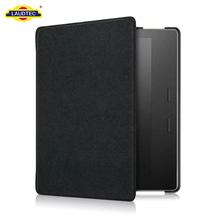 Auto Wake Sleep Flip Leather Standing Smart Cover For Kindle Oasis 7 2017 Case