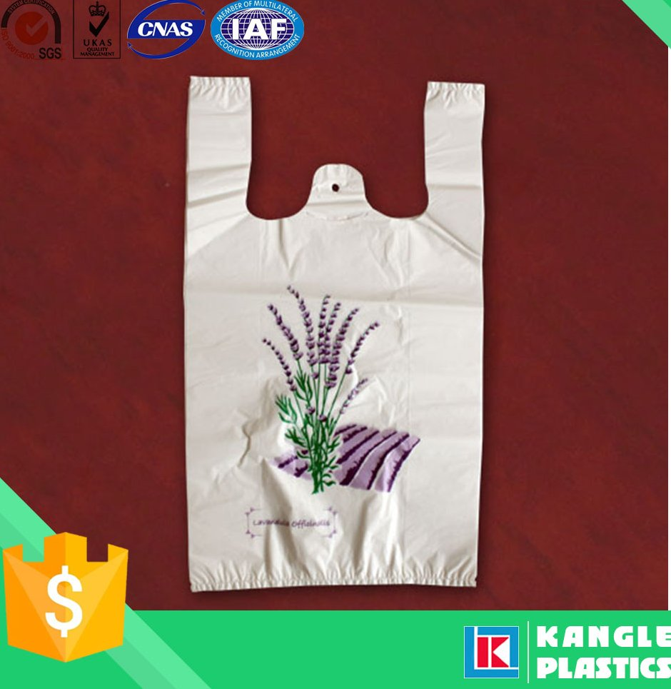 China wholesale foldable trolley t-shirt shopping bag with handle