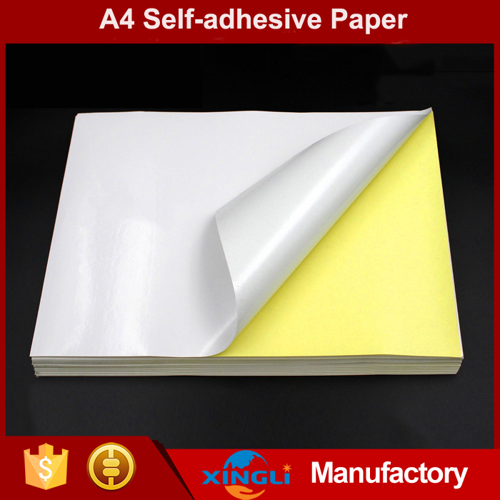 Hot-sale Cheap price sticky label printing A4 paper